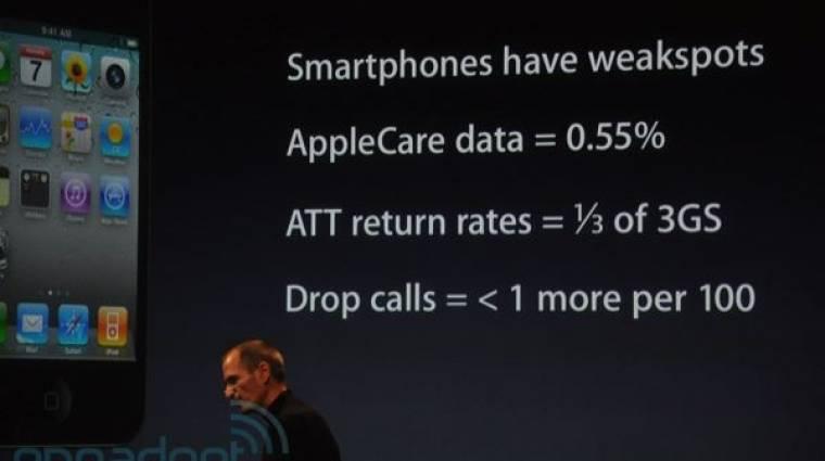 Sokára lesz csak fehér iPhone 4-es kép