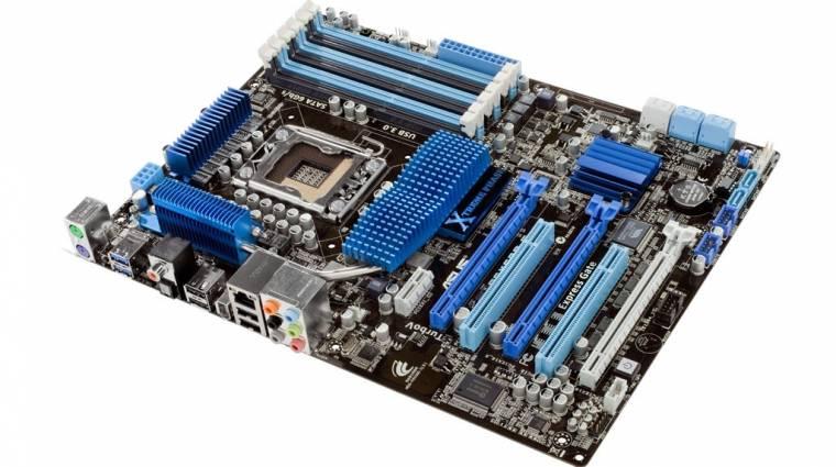 ASUS P6X58D-E - kötelező frissítés elfogadható áron kép