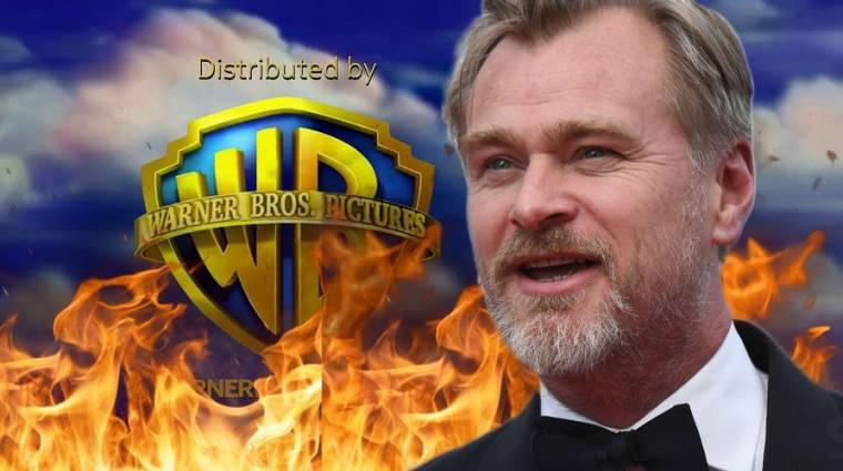 Christopher Nolan hivatalosan is szakított a Warner Bros.-szal kép