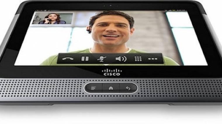 Androidos tabletet jelentett be a Cisco kép