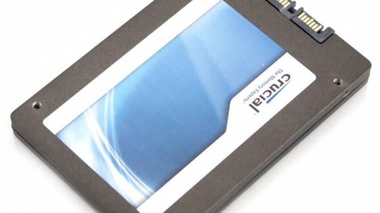 Fontos frissítés Crucial m4 SSD-khez kép