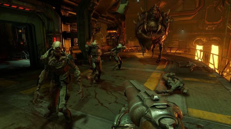Doom - holnaptól konzolon is játszhatunk 4K-ban bevezetőkép