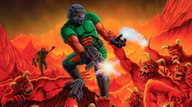 Az első két Doom is támogatja már a szélesvásznú képernyőket bevezetőkép