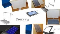 Laptop kizárólag napelemmel? kép