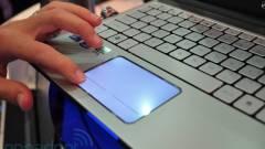 Gateway notebookok világító érintőpaddal kép