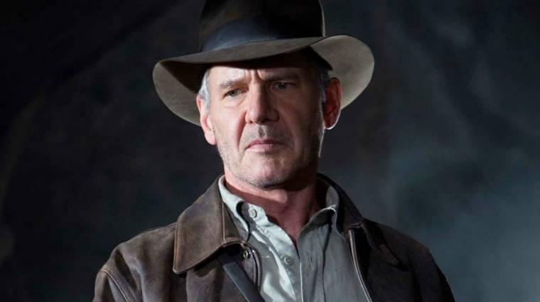 Harrison Ford is felbukkant az Indiana Jones 5 forgatásán, már nem csak a színész arcát mintázó para maszkot nézhetjük bevezetőkép