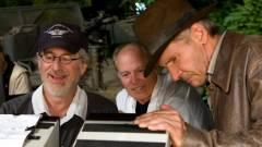 Steven Spielberg dobbantott az Indiana Jones 5 rendezői székéből kép