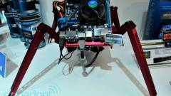 Lian Li: pók alakú, mozgó Mini-ITX-es ház kép