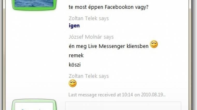 Hibás a friss Messenger telepítője kép