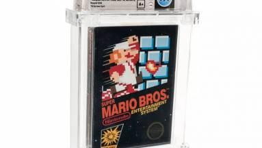 Egy árverésen minden eddigi rekordot megdöntő összegért kelt el egy Super Mario Bros. kép