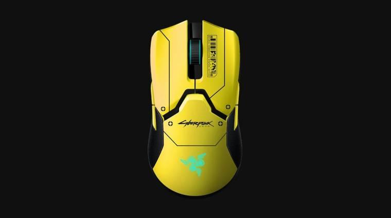 Egészen csinos a Cyberpunk 2077 témájú Razer Viper Ultimate kép