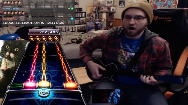 Ez a srác 9 éve próbált tökéletesen eljátszani egy számot Rock Bandben, elsírta magát, amikor sikerült bevezetőkép