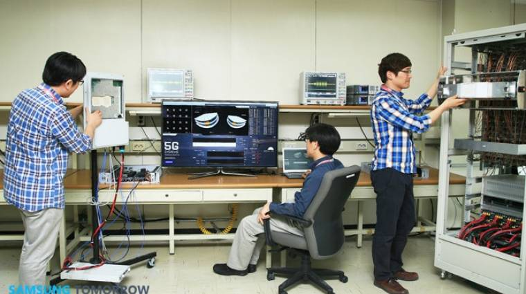 Sikeres 5G-teszteket hajtott végre a Samsung kép