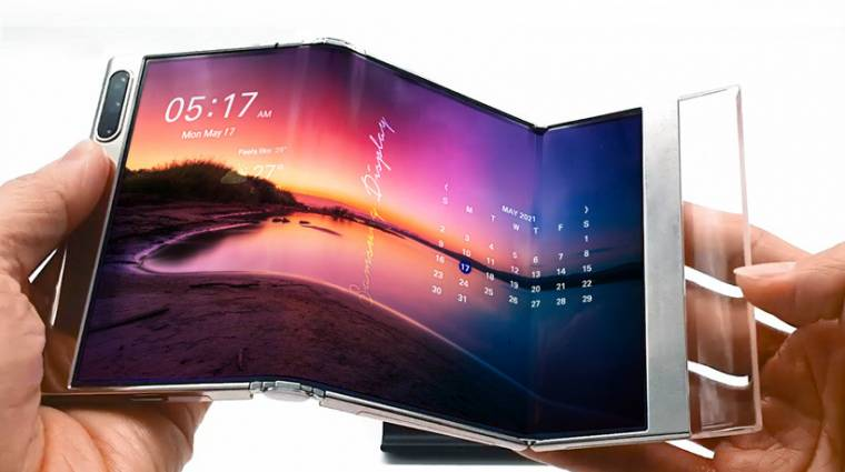 Így képzeli el a Samsung a képernyők következő generációját kép