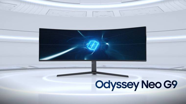 Hamarosan megjelenik a Samsung gigászi monitorja, új videót kaptunk róla kép