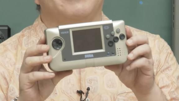 Egy olyan retró Sega kézikonzolt láthattok most, amelyet korábban még soha kép