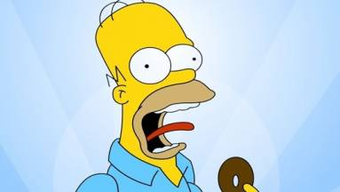 Homer Simpson már 65 éves...lenne, ha öregedne kép