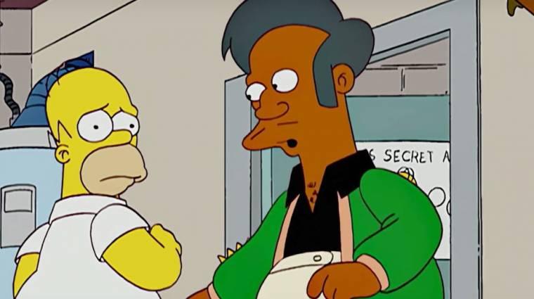 A Simpson család nem alkalmaz többé nem színes bőrű színészeket színes bőrű karakterekhez bevezetőkép