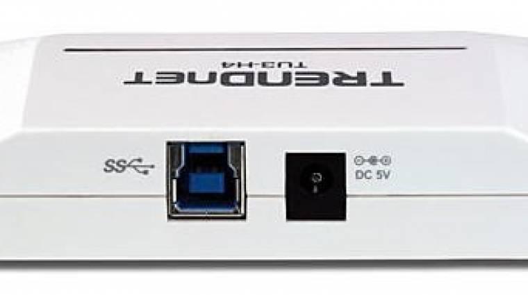Négyportos USB 3.0 HUB a TRENDnet kínálatában kép