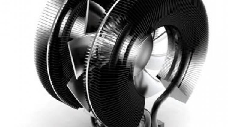 Zalman CNPS9900 Max processzorhűtő: a hűvös fekete pillangó kép