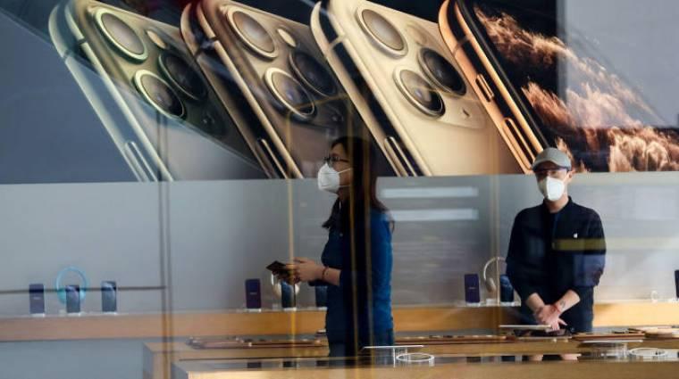 Korlátlan betegszabadság jár az Apple egyes dolgozóinak, ha koronavírusszerű tüneteket tapasztalnak kép
