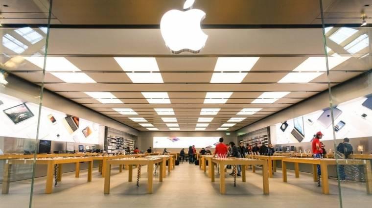Kínán kívül minden boltját bezárja az Apple kép