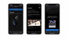 Sötét módot kapott az Apple Store app kép