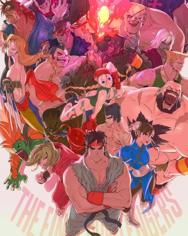 Ultra Street Fighter II: The Final Challengers kép