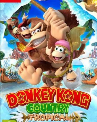 Donkey Kong Country: Tropical Freeze Switch kép