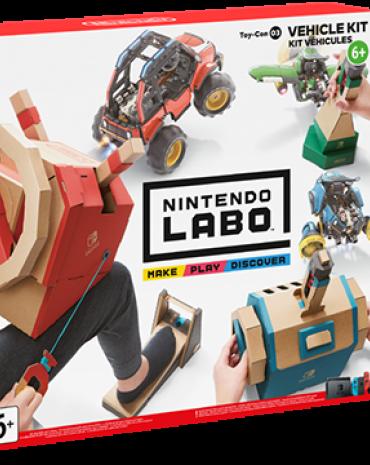 Nintendo Labo Toy-Con 03: Vehicle Kit kép