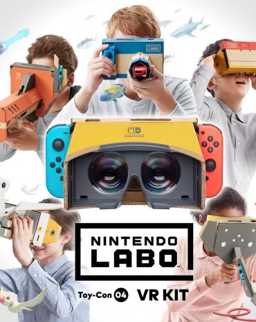 Nintendo Labo Toy-Con 04: VR Kit kép