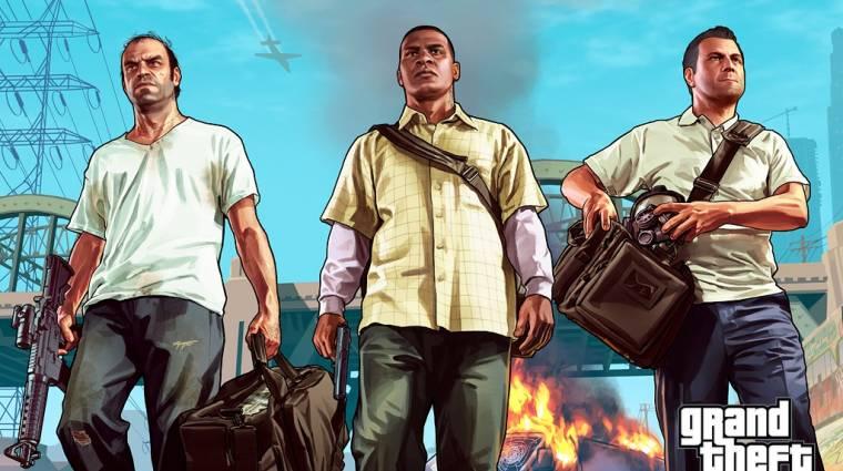 Grand Theft Auto V - búvárkodás, ejtőernyőzés és rengeteg szélturbina bevezetőkép