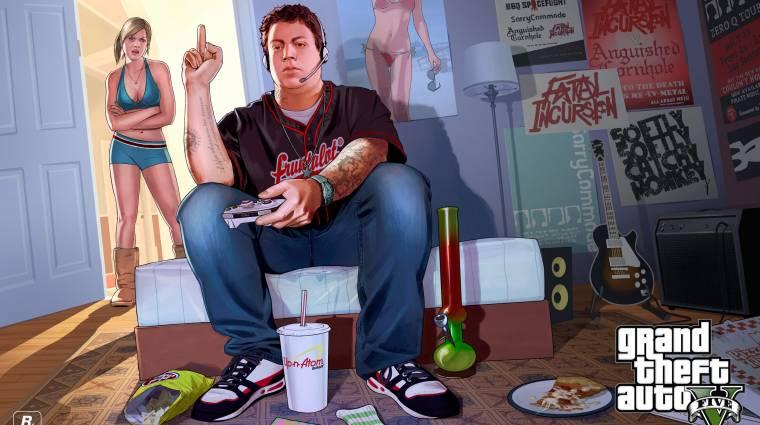Íme az első Grand Theft Auto V gameplay trailer bevezetőkép