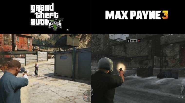 A GTA V úgy harcol, mint a Max Payne 3 bevezetőkép