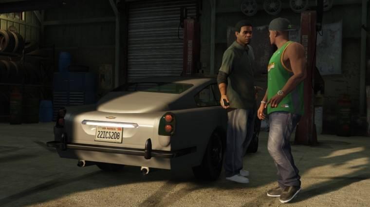 Grand Theft Auto V - együtt dolgozik CJ és Franklin bevezetőkép