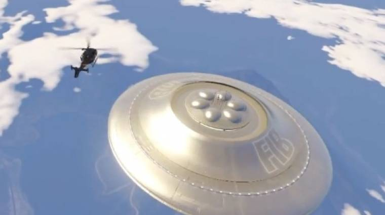 Grand Theft Auto V - már UFO-val is repülhetünk bevezetőkép