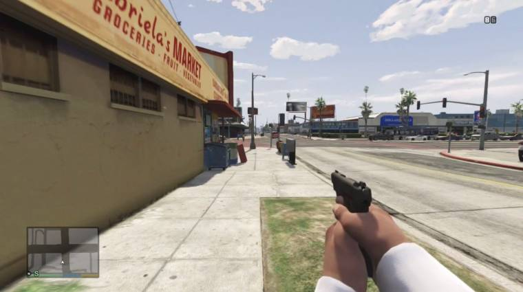 Grand Theft Auto V - ilyen lenne FPS nézetből (videó) bevezetőkép