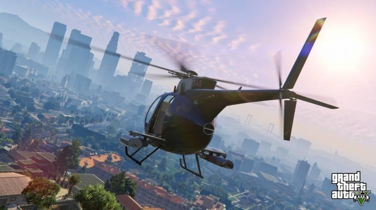 Grand Theft Auto V - ilyen lenne 60 fps-sel bevezetőkép