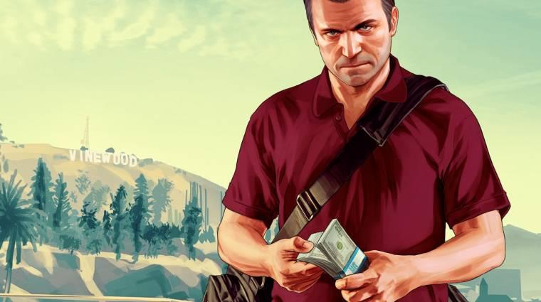 Elképesztő mérföldkőhöz érkezett a Grand Theft Auto V bevezetőkép