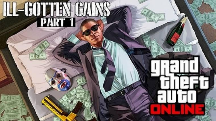 Grand Theft Auto V - kinyírja a modokat az új DLC bevezetőkép
