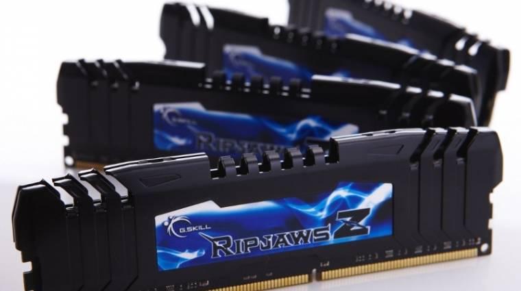 G.Skill: 64 GB DDR3-as memória 2400 MHz-en, négycsatornában kép