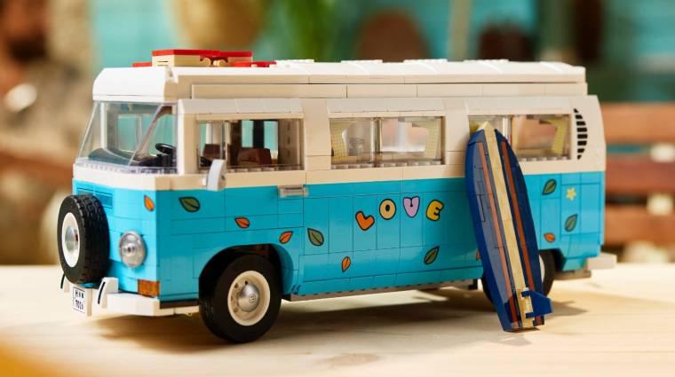 A LEGO Volkswagen partibusz lehet a nyári gyűjteményed legjobbja bevezetőkép