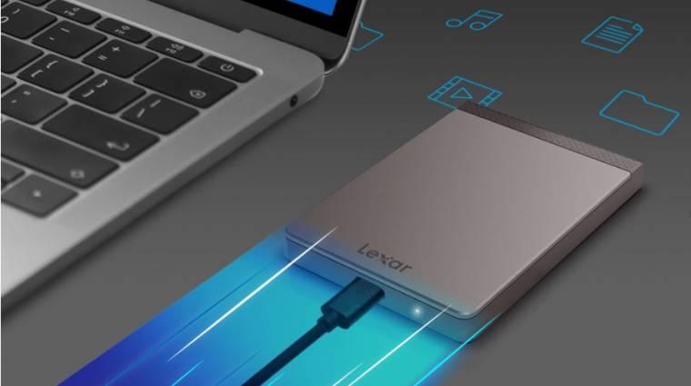 1 TB-os a Lexar új hordozható SSD-je kép