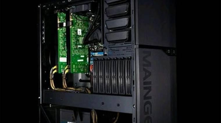 GTX 460 a Maingear játék-PC-kben kép