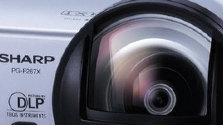 Sharp  PG-267X teszt kép