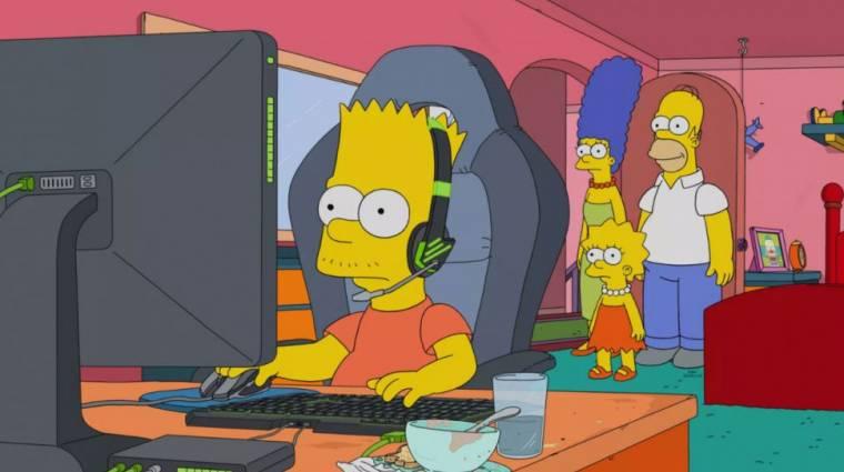 Minden az e-sport körül forog a Simpson család következő epizódjában bevezetőkép