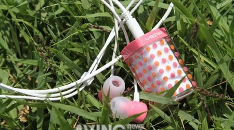 MP3-lejátszó mozgásérzékelővel kép