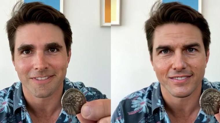 Nem, Tom Cruise nem lett TikTok influenszer, csak ennyire durva már a deepfake kép