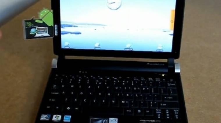 Android és XP is került az Acer új netbookjára kép