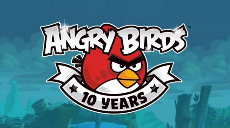 Így ünnepli tizedik születésnapját az Angry Birds bevezetőkép